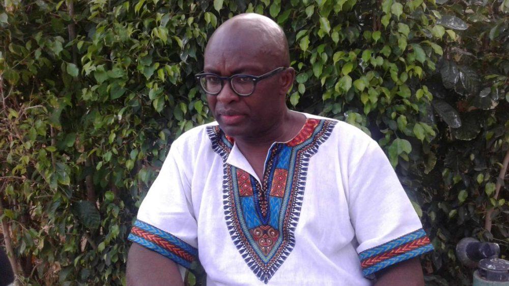 Achille Mbembe. Photo Parfait Tabapsi.