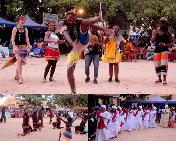 Gorée festival, une ambiance carnavalesque 2016