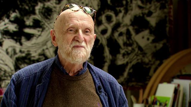 Pierre Alechinski, lien intime avec la littérature