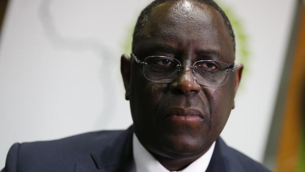 Le président sénégalais Macky Sall / AFP-PHOTO /THOMAS SAMSON