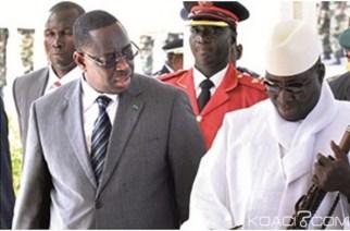 Macky Sall sermonne Yaya Jammeh : « Le pouvoir est donné par Dieu et IL le retire quand IL le veut »