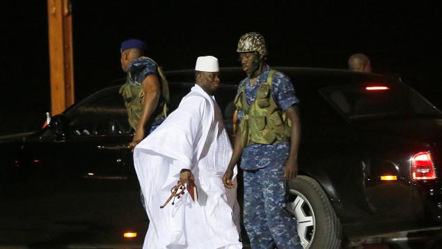 yayah jammeh depart