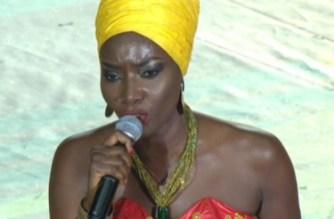 CAN 2017 : cérémonie de clôture, Coumba Gawlo Seck assure le show