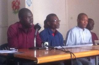 VIDÉO – Les jeunes de l'APD mettent en garde Benno : «Notre parti ira seul aux Législatives si… »