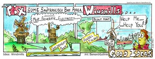 fix windmills