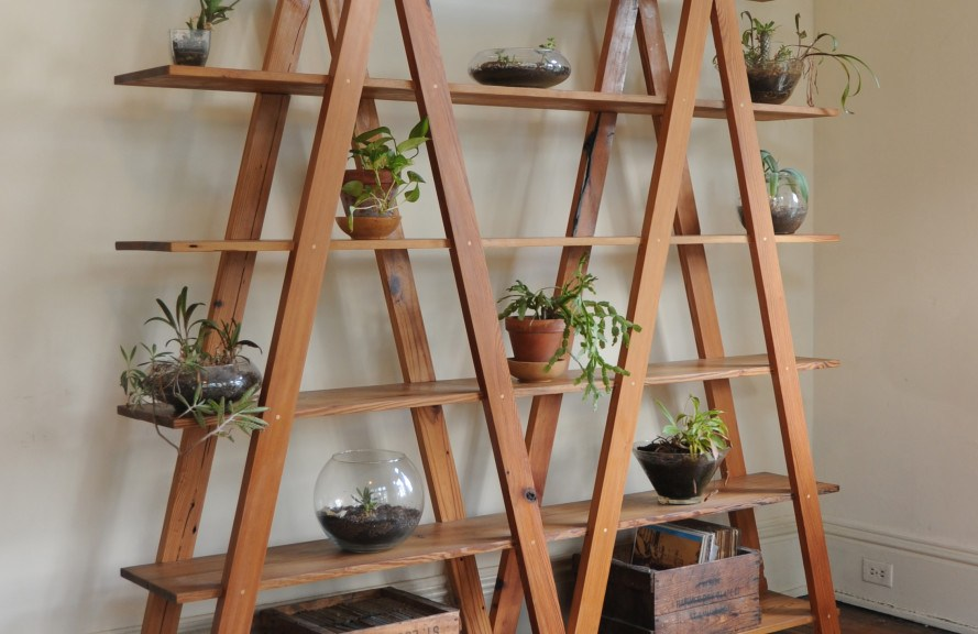 Pyramid Shelves