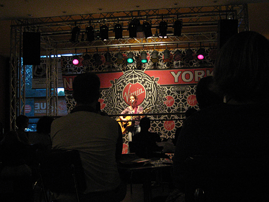 Dar Williams at the Virgin Megastore