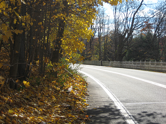 Hike along Route 9D in Garrison