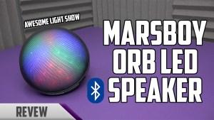 Marsboy ORB LED Bluetooth Speaker