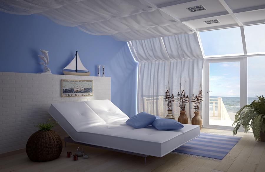 Strand Inrichting Slaapkamer : Slaapkamer thema strand. strand slaapkamer met roze en turquoise in