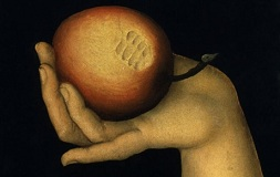 Cranach, Eva, Ausschnitt / Florenz - Cranach / Eve / Detail -