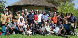 Deltagare i ett IofC-möte i Etiopien.