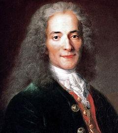 Voltaire anslöt sig till kampen mot religiös intolerans, mot politiskt förtryck, och mot okunnighet och fördomar på alla områden. Han presenterade brittiska vetenskapsmän, som Newton, för den franska publiken och informerade fransmännen om Englands religionsfrihet, tryckfrihet och styrelsesätt