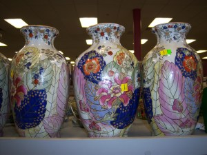 Photo of Chinese urns for $7.99 each.