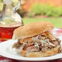 East Carolina Pulled Pork BBQ