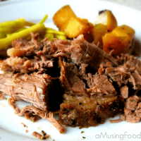 Slow Cooker Beef and Potatoes