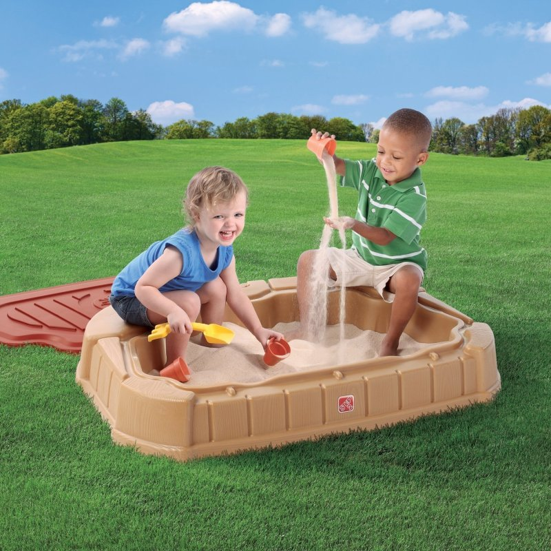 Large Of Two Kids In A Sandbox
