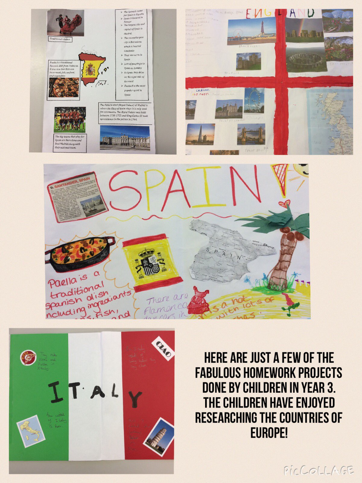 Homework projects year 4