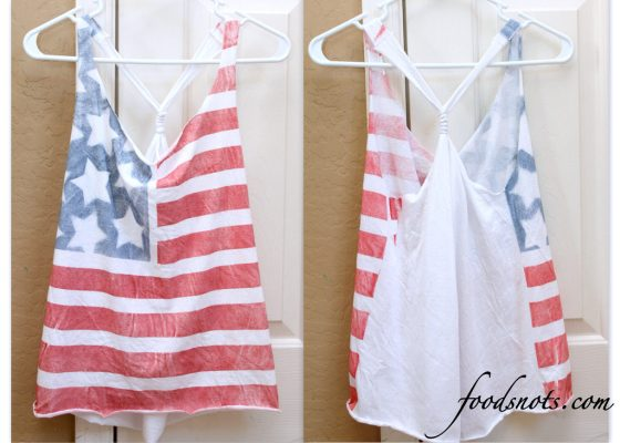 Stars and Stripes No-Sew Tank Top