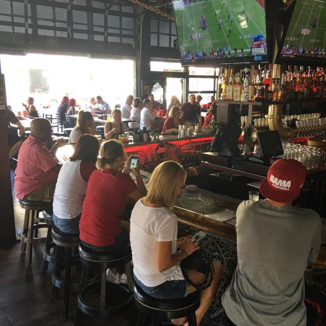 Great turnout for todays Kent St game bootleggersd rolltide bama
