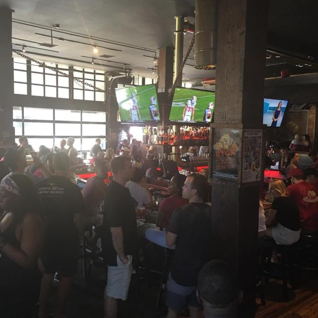 Its game day and were already filling up! rolltide bamahellip