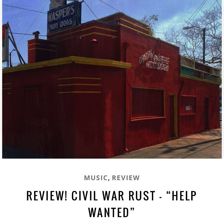 New review posted on sandiegopunkcom! Civil War Rust  Helphellip