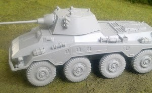 Italeri 1/56th Puma (sdkfz 234/2) a/car