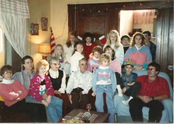 See if you can pick me out. I was the third oldest grand kid.