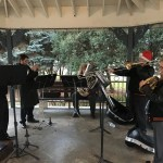 Brass Quintet at the Tree Lighting Ceremony 2016