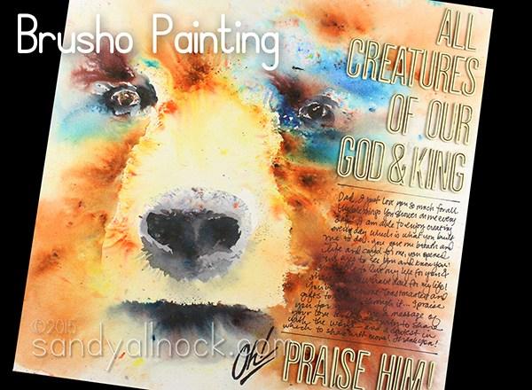 Bible Journaling Sandy Allnock