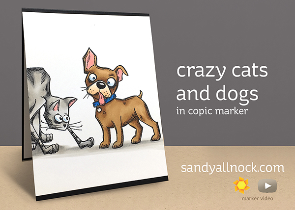 Sandy Allnock - Crazy Cats and Dogs