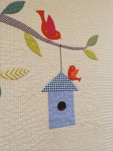 G's treehouse birdhouse