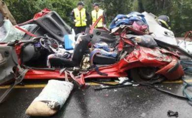 Murieron tres argentinos aplastados por un container en Brasil