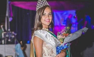 Jazmín Mendoza es la nueva reina de la Fiesta Departamental de la Cebada Cervecera