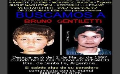 Se cumplieron 21 años de la desaparición de Bruno Gentiletti