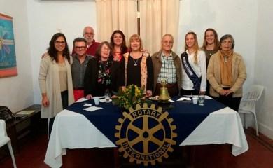Entrega del premio SATO en Casa Rotaria