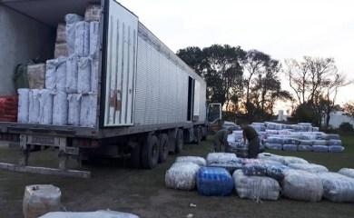 Decomisaron mercadería valuada en más de 33 millones de pesos sobre Ruta 34