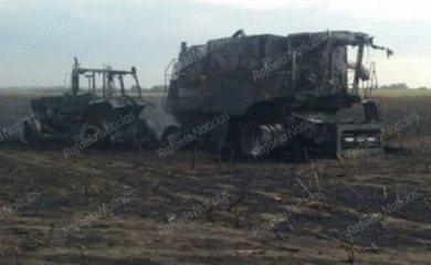 Zona rural de Zenón Pereyra: murió arrollado por una sembradora