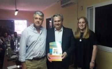 La Municipalidad de San Genaro recibió millonario aporte por obras menores