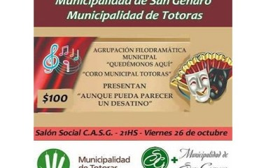 Continúa el intercambio cultural entre la Municipalidad de San Genaro y Totoras