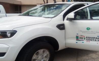 San Genaro recibió nueva camioneta gestionada a través de Plan Equipar