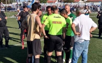 Final de Liga Totorense suspendida por violencia