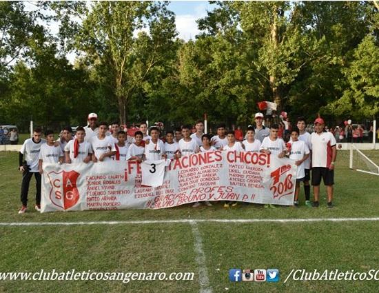 La 7ma de Club Atlético San Genaro es campeón 2018