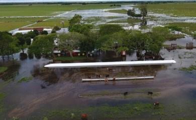 Monje y San Genaro unidos por la solidaridad: juntan donaciones para los inundados