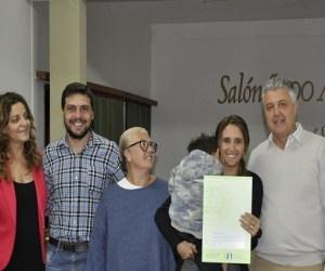 Entregaron 20 nuevas escrituras de terrenos en San Genaro