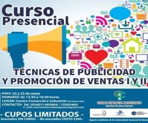 San Genaro: Curso de técnicas de publicidad y promoción de ventas