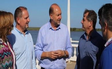 Omar Perotti y Capitani recorrieron San Genaro y la región