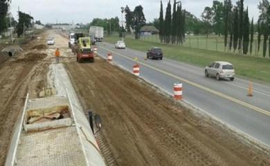 Con la construcción de un puente, avanza la transformación de la ruta 34 en autopista