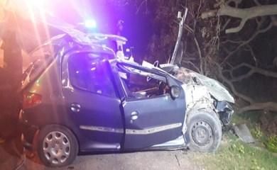 Violento accidente de un joven de El Trébol en Ruta 13