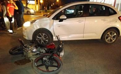 San Genaro: Accidente en las 6 esquinas